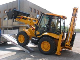 Nájazdy pre bagre, kolesové a šmykové nakladače, stroje do 14.000 kg