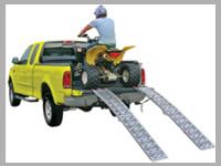 ATV skládací nájezdy pro čtyřkolky, motorky, sekačky a jiné