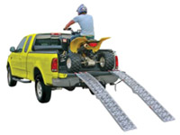 ATV skládací nájezdy pro čtyřkolky, motorky, sekačky