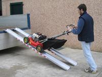 Hliníkové nájezdy pro zahradní techniku do 1500kg